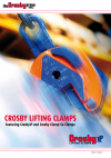 Crosby IP (special) clamps