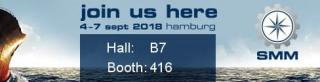 Visit us at the upcoming SMM exhibition Hamburg (2018)